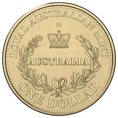 2016 M Melbourne Privy Mark One Dollar in 2x2