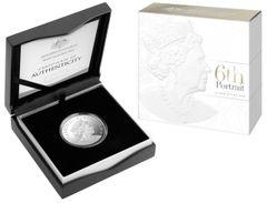 2019 $1 Fine Silver Proof Coin - Double Header - Clark and Rank-Broadley Effigies