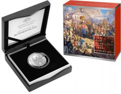 2019 The Rum Rebellion $5 Five Dollar Silver Proof Royal Australian Mint Coin