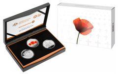 2018 Armistice Centenary Three Coin Silver Proof Set