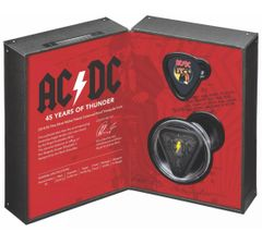2018 AC/DC 45 Years of Thunder - $5 Silver Nickel Plated Proof Coin Australian
