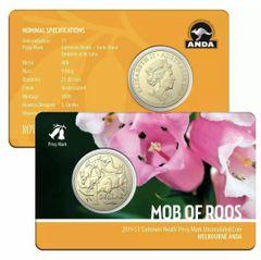 Melbourne Money Expo 2019 $1 Mob Of Roos Common Heath Privy Mark Unc ANDA