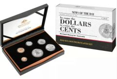 2016 In Come The Dollars In Come The Cents Coin Set