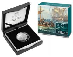 2019 Mutiny on the Bounty Five Dollar Silver Proof