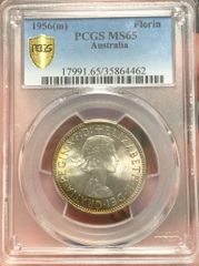 1956 Florin PCGS Graded MS65