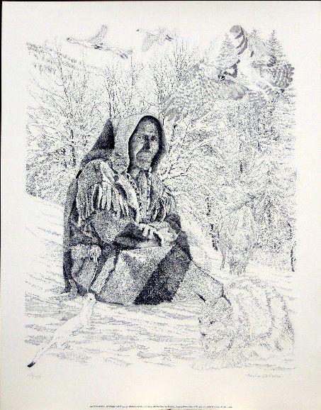 Winter Blankets-Hudson Bay Capote by Richard Harris