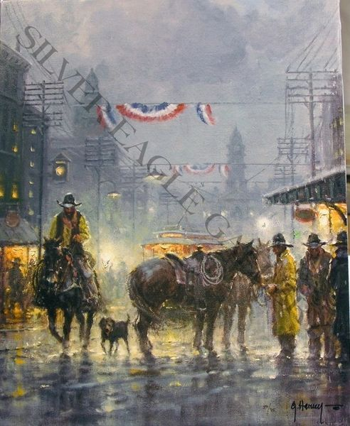 Cowtown Drifter by G. Harvey