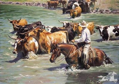 Crossing the Rio Grande by Terri Kelly Moyers
