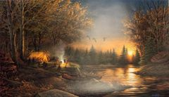 Evening Solitude by Terry Redlin