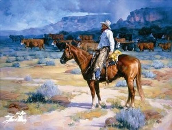 Cow Country by Jack Sorenson