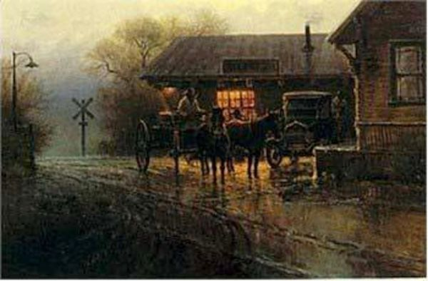 Katy Depot by G. Harvey