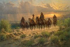 Cowhands of the West by G. Harvey