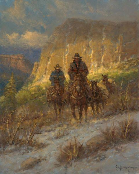 Soft Canyon Light by G. Harvey