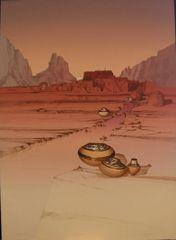 Zuni Pots by Michael Atkinson