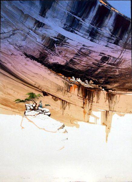 Anasazi Shadows by Michael Atkinson