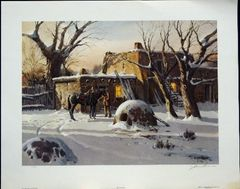 Winter at the Pueblo by James Boren