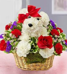 """Puppy Love "" Basket"