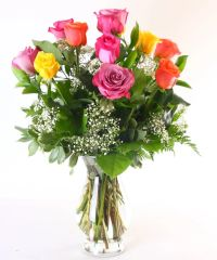 Dozen Assorted Colors Roses