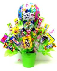 "Mother's Day ""Candy Bouquet"" Choose Size/Price"