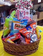"""Junk Food Basket"" Choose Size/Price"