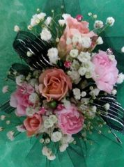 14-PkB Wrist Corsage (Choose Color)