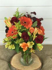 Fall Vase Arrangement