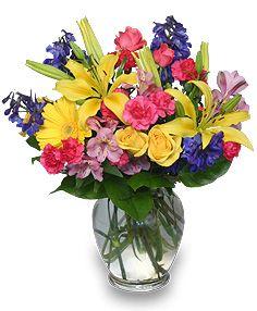 Mixed Vase (Choose Size)