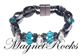 Enchanted Blue Zircon Bracelet.