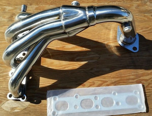 STAINLESS RACING HEADER EXHAUST MANIFOLD 01-03 MAZDA PROTEGE//5 2.0 DX//ES//LX//MP3