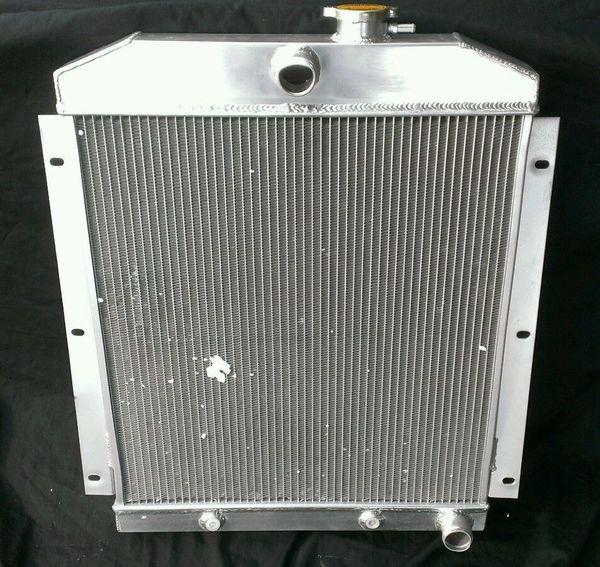 47-54 CHEVY C/K 3000 SERIES TRUCK PICKUP L6 3-ROW FULL ALUMINUM RACING RADIATOR