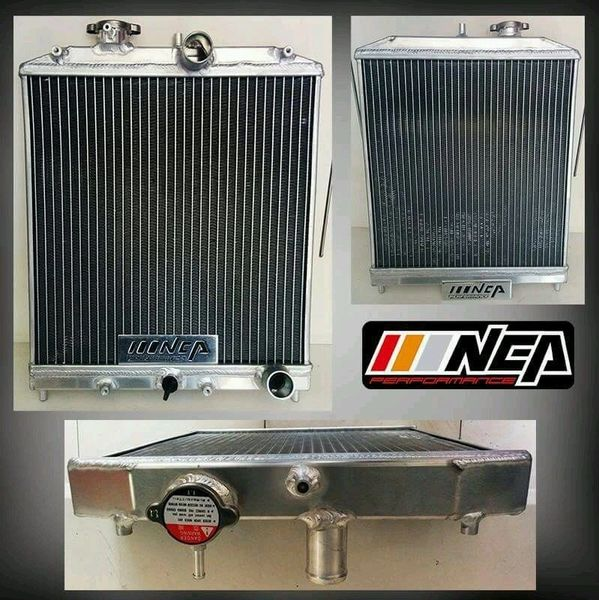 92-00 CIVIC EJ/EK/EG/INTEGRA DB DC 2-ROW FULL ALUMINUM RADIATOR