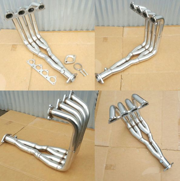 H22 swap header Tri-Y H22A stainless steel Civic Integra