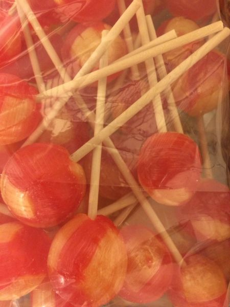 Strawberry Banana Jumbo pops