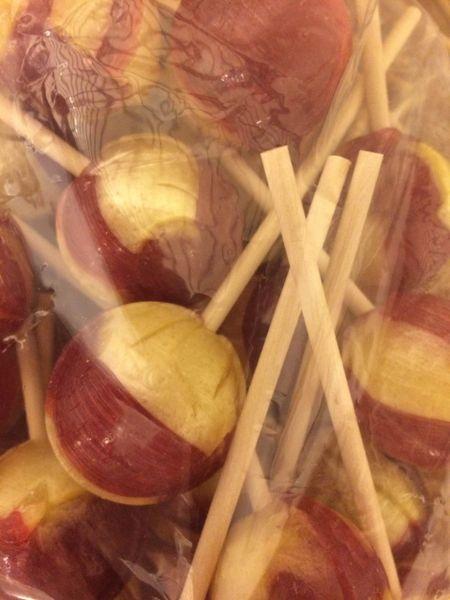 Raspberry Lemonade Jumbo Pops