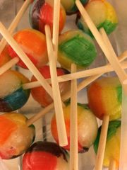 Rainbow Watermelon Jumbo Pops
