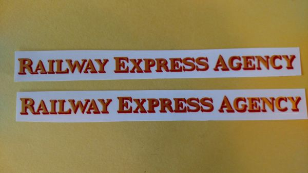 Buddy L Railway Express Decals BLDA2 Page 84