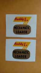 Buddy L Decals BL02A
