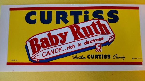 Buddy L Curtiss Candy Decals BL5813A Page 88