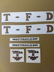 Tonka Decals TKF3 Page 68