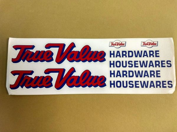 True Value Decal Tonka/Generic