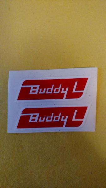 Buddy L Pressure Sensitive door emblems BL98D Page 10