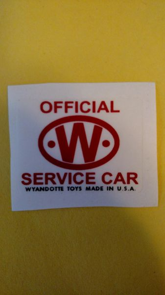 Official Service Car Emblems Wyandotte WYDE03A Page 32