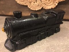 Carved Coal Train