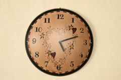 Heart Star Wall Clock