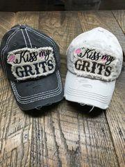 """Kiss My Grits"" Ball Cap"