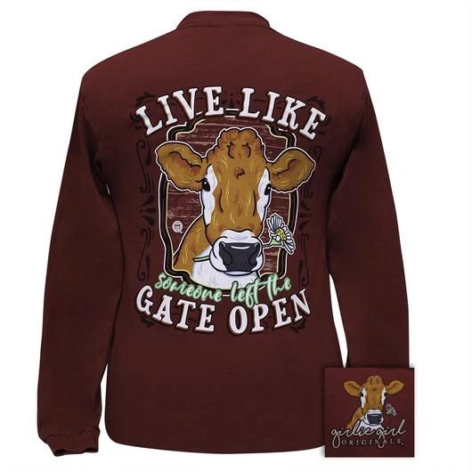 """Live Like someone left the Gate Open"" GGO T-Shirt"