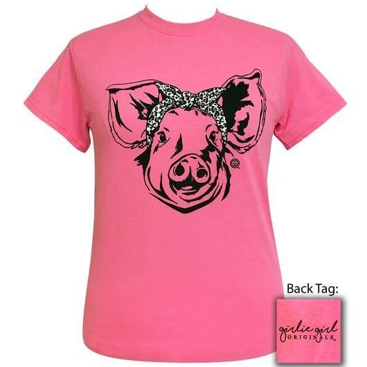 """""""Leopard Bandana Pig"""" GGO T-Shirt"""