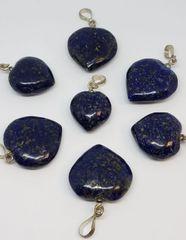 Lapis Heart pendants