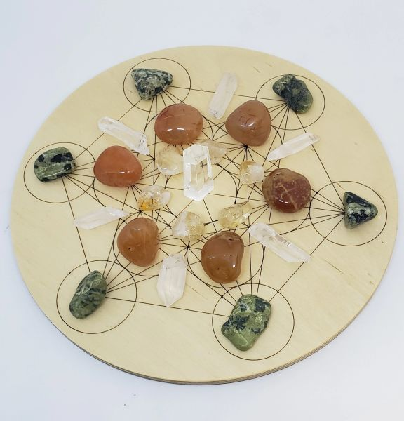 Crystal Grid Kit - Business Success