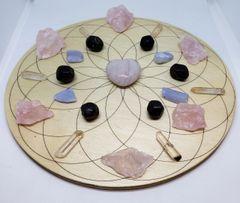 Crystal Grid Kit - Love